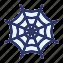 halloween, horror, spider, web