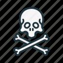 halloween, bone, bones, pirate, scull, crossbones