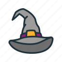 evil, halloween, hat, magic, night, nightmare, witch icon