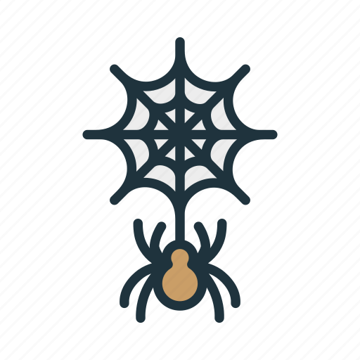 creepy, halloween, insect, spider, spook, web icon