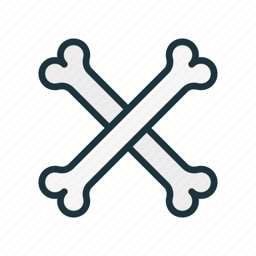 bone, bones, crossbones, halloween, pirate, skeleton icon