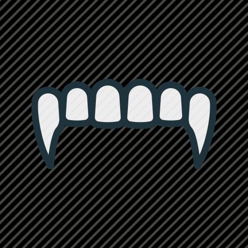 dracula, fangs, halloween, jaws, nightmare, teeth, vampire icon
