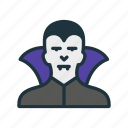 dracula, fangs, halloween, jaws, nightmare, teeth, vampire icon