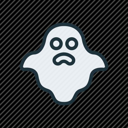 casper, creepy, ghost, halloween, nightmare, spook icon