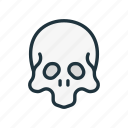 cemetery, dead, halloween, head, pirate, scull, skeleton icon