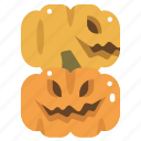 fear, halloween, horror, pumpkin, scary, spooky, terror icon