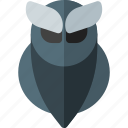animal, animal icon, halloween, halloween icon, owl, owl icon icon