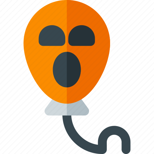 balloon, balloon icon, halloween, horror, horror icon, scary, scary icon icon