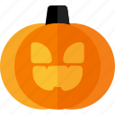 scary, horror, halloween, pumpkin, pumpkin icon