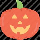 fruit, halloween, happy, jack-o'-lantern, pumpkin, pumpkin happy smile icon