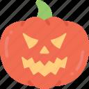 angry, fruit, halloween, jack-o'-lantern, pumpkin, pumpkin angry evil icon