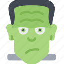 frankenstein, frankenstein beast, freak, halloween, monster icon