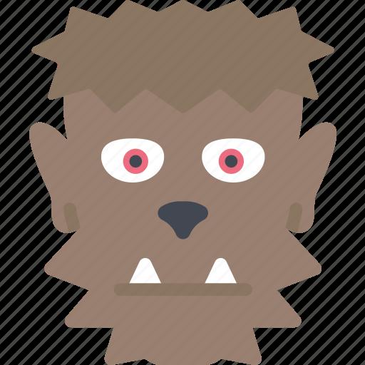 evil, halloween, man, warewolf, wolf icon
