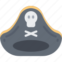 evil, halloween, hat, hook, pirate, pirates icon