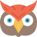 animal, bird, evil, halloween, owl icon