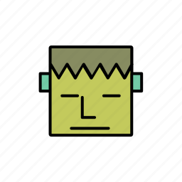 evil, franken, frankenstein, halloween, horror, monster, scary icon