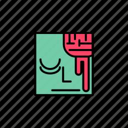 avatar, emoticon, emotion, face, halloween, user, zombie icon