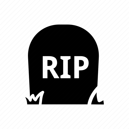 dead, death, grave, graveyard, halloween, rip, tombstone icon