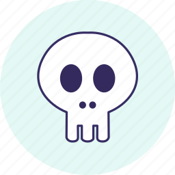 carnival, event, festive, halloween, party, skull icon