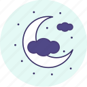 carnival, event, festive, halloween, moon, party icon