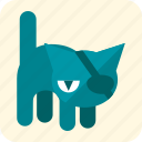 cat, celebration, claws, halloween, scary, tail, whiskers icon
