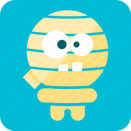 ancient, bandage, celebration, halloween, mummy, scary, tomb icon