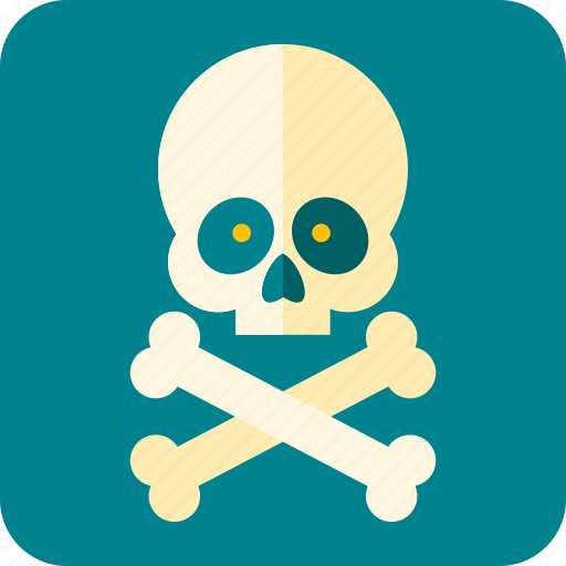 bones, celebration, halloween, scary, skeleton, skull, teeth icon