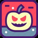 fruit, ghost, halloween, october, pumpkin, spooky icon