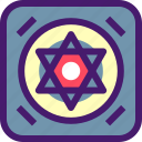 ghost, halloween, israel, october, ritual, spooky, stars icon