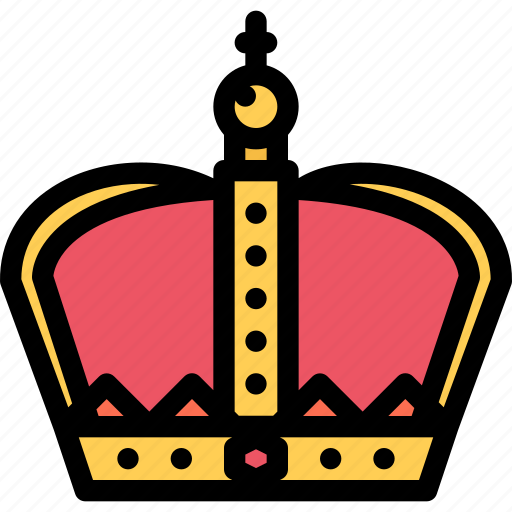 crown, fairy tale, fantasy, halloween, legend, myth icon