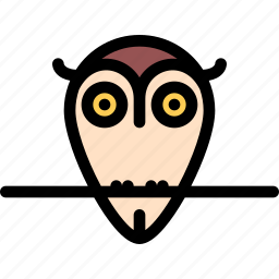 fairy tale, fantasy, halloween, legend, myth, owl icon