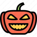 fairy tale, fantasy, halloween, legend, myth, pumpkin icon