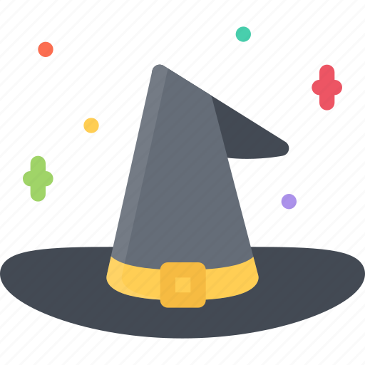 fairy tale, fantasy, halloween, hat, legend, myth, witches icon
