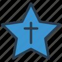 medal, star, cross, award