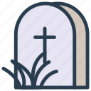 cemetery, grave, rip, tomb