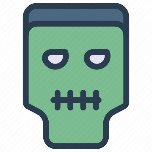 creepy, ghost, scary, zombie icon