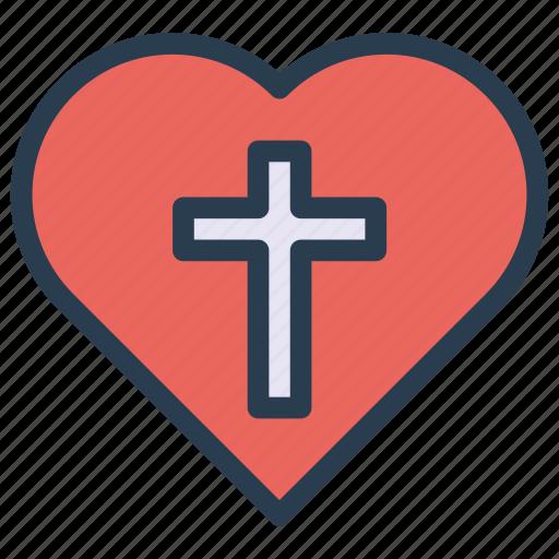 Image result for heart cross