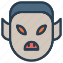 devil, halloween, monster, vampire icon
