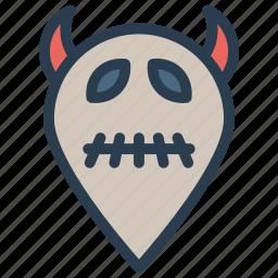 devil, dracula, vampire, zombie icon