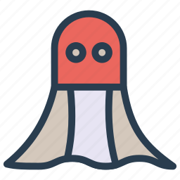 boo, ghost, horror, spooky icon