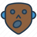 ghost, scary, halloween, spooky icon