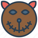 ghost, mummy, zombie, scary icon