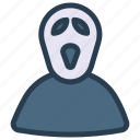 devil, ghost, halloween, zombie icon