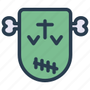 ghost, halloween, monster, skull icon
