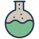 beaker, flask, lab, medical icon