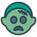 halloween, monster, mummy, zombie icon