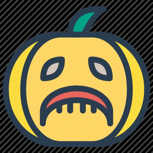 halloween, pumpkin, scary, spooky icon