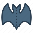 bat, bird, fly, vampire icon