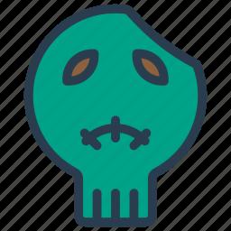 creepy, monster, vampire, zombie icon