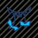 bat, bird, halloween, vampire